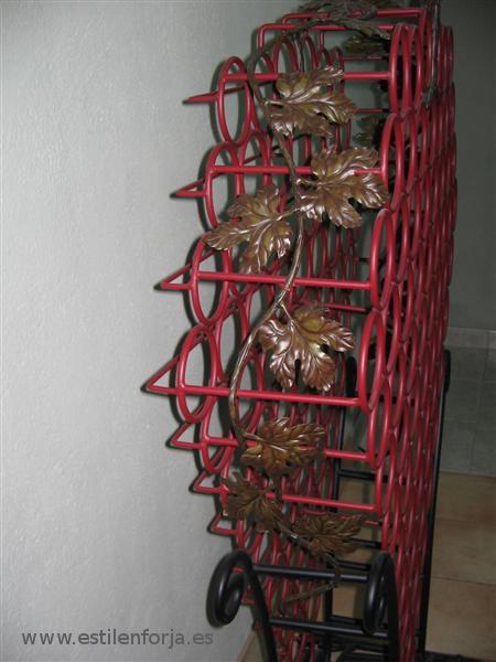 Botelleros de forja con dise os originales estil en forja - Botelleros de diseno ...