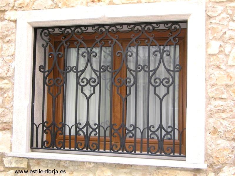 Related pictures images fotos rejas para ventanas hierro - Rejas de hierro forjado ...